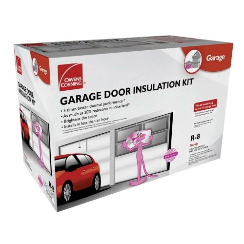 Garage door insulation kit because the girl s room above