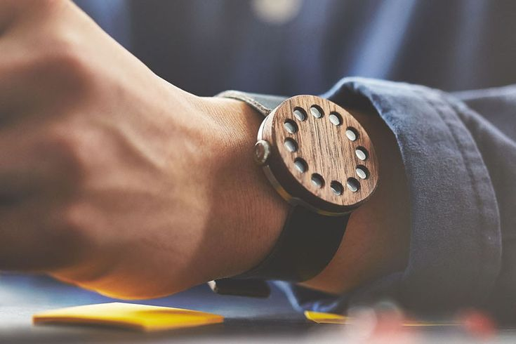 15 Wooden Watches To Wrap Around Your Wrist - http://www.contemporist.com/2016/04/29/15-stylish-watches-made-of-wood-to-wrap-around-your-wrist/