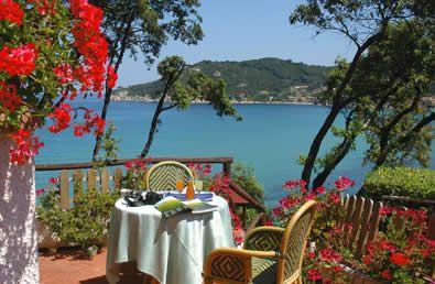 Terrazza sul mare Hotel Hermitage Elba