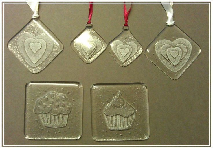 Sally Beeston's Glass fused Creations & start from just £5ea. Like with many of our artists, private commissions welcome.