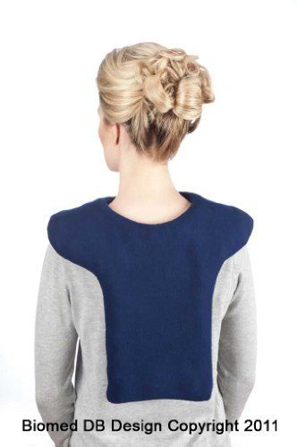 Large Microwave Shoulder Heating Pad, Hot Cold Shoulder Neck Wrap, All Natural Bean Bag, Washable Heat Pack, Navy Blue by Sunny Bay. $47.00. Never mess with cords and plugs again! The Shoulder Heating Pad is a microwavable and freezable product. It treats shoulder and upper back muscles and we made it thicker for better heat retention and delivery to the parts that need it the most. It is ergonomically designed to stay on your shoulder and upper back so you are no...