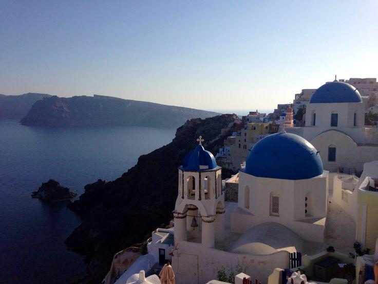 Picture perfect Santorini