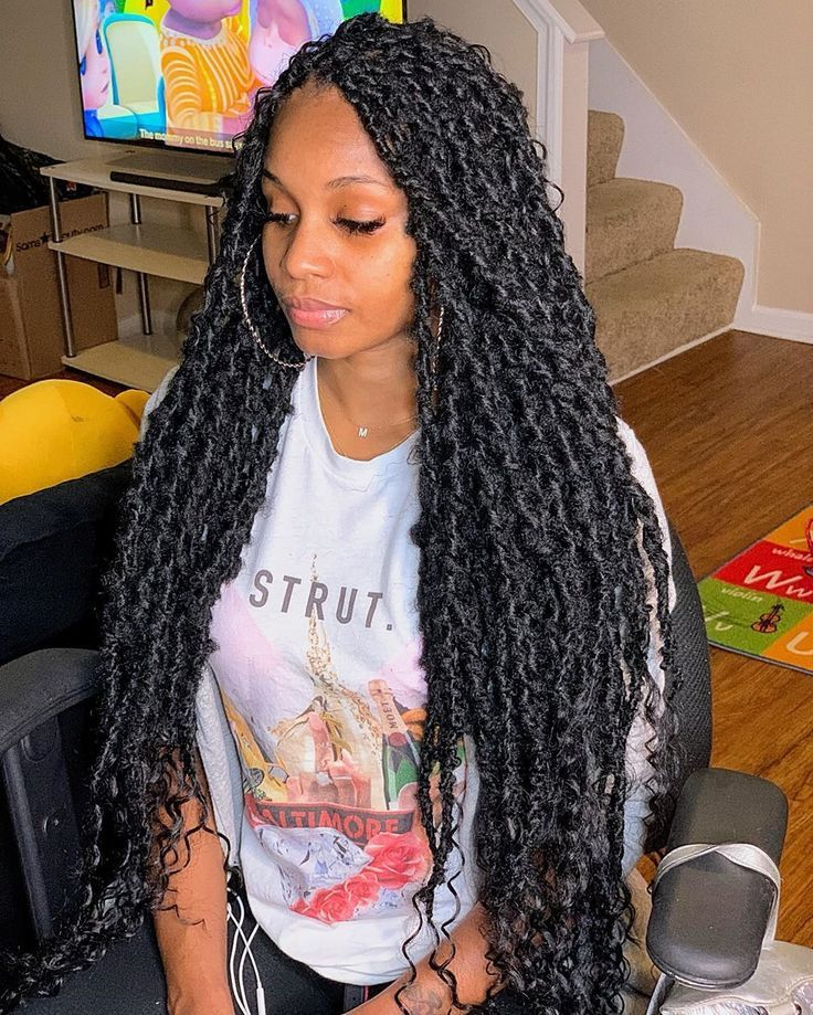 Curly Hairstyles Saleprice 9 In 2020 Hair Styles Faux Locs Hairstyles Twist Braid Hairstyles