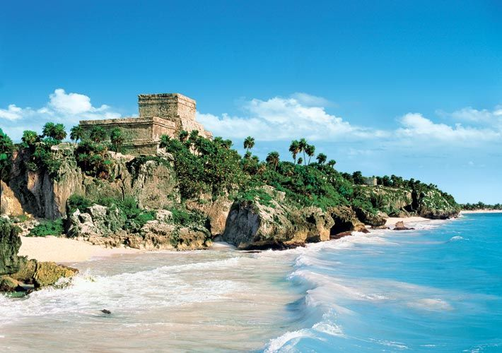 Tulum, Mexico. I remember gasping when I first saw it.