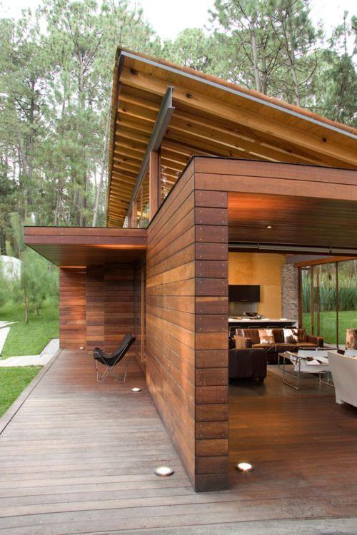 Modern exterior & materials