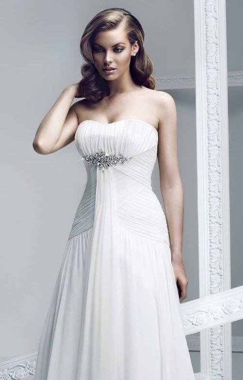 94 best brautkleider mit spitze images on Pinterest   Wedding ...