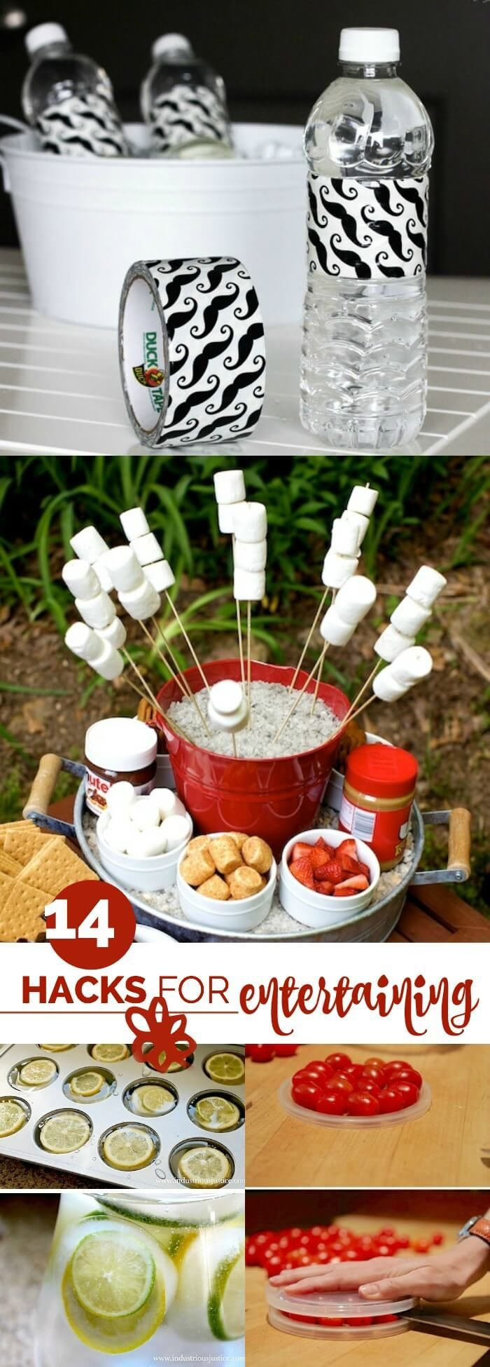 14 Fun and Creative Entertaining Hacks for your upcoming parties!