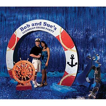 Cruise Theme Party | Under the Sea Decorations Summertime Fun Decorations Tiki Decorations ...