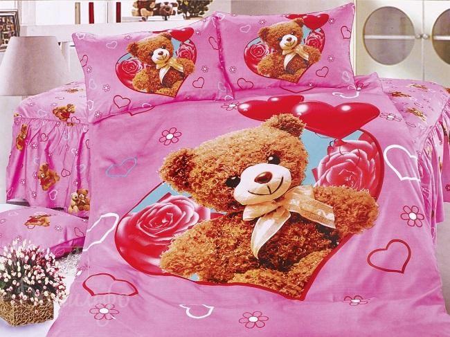 Детское постельное белье МИШКА С СЕРДЦЕМ PVC от производителя Cleo (Китай)