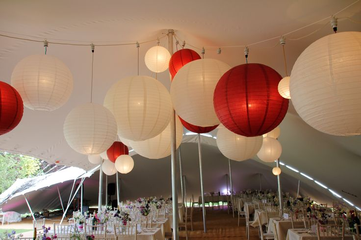 More funky lights for Stretch Tents