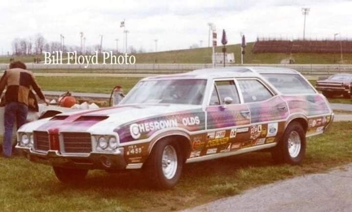 1971 Olds Vista Cruiser Drag Racing Cars Oldsmobile Vista Cruiser