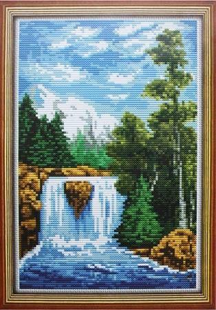 Набор для вышивания Lutars 039 Река