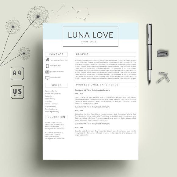 19 best Reseme Templates images on Pinterest Professional resume - easy to use resume templates