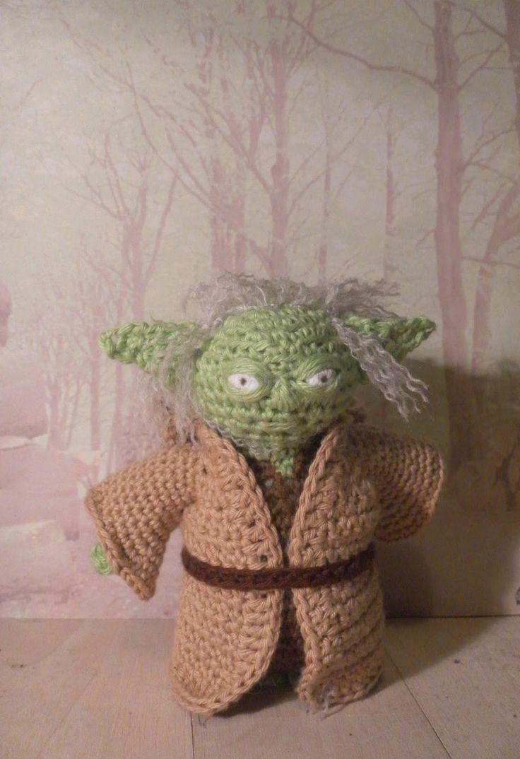 Kreaposen: Star Wars - Yoda, crochet, hæklet