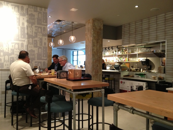 Inside the Portland Penny Diner. Cool space next to Hotel Lucia and the food is outstanding!