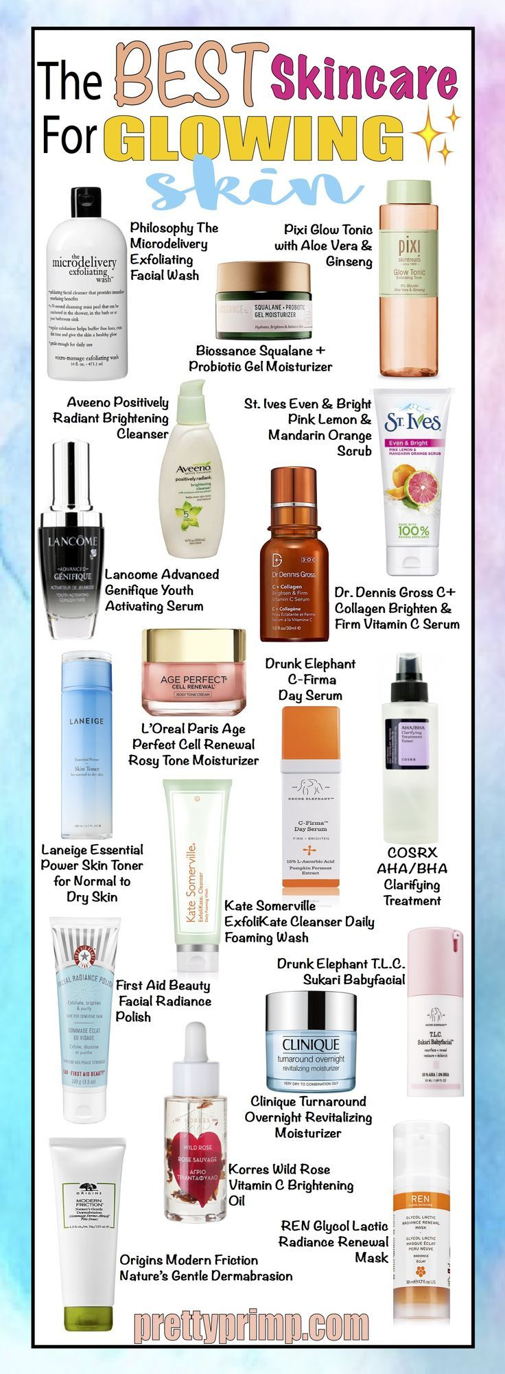 Want to know how to get glowing skin? Try these products to get your glow on