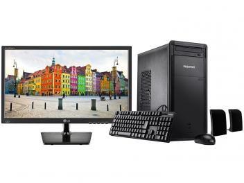 "Computador Positivo Premium DRi7160 Intel Core i3 - 4GB 1TB Linux + Monitor LG LED 19,5"" Widescreen"