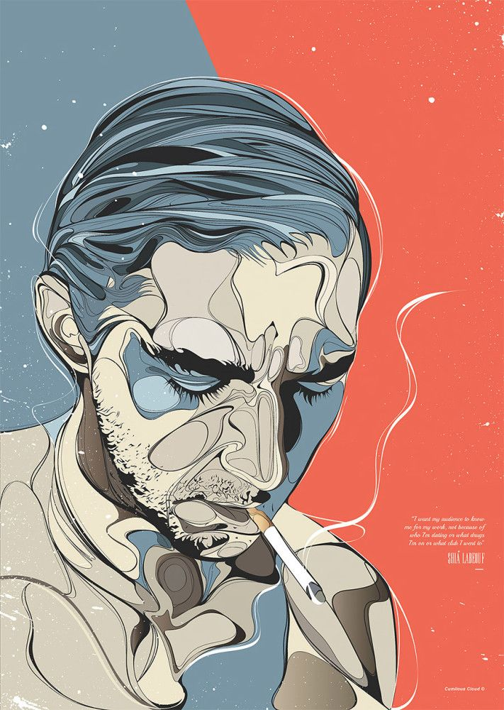 Pop Culture Illustrations by Emmanuel Mdlalose   Inspiration Grid   Design Inspiration