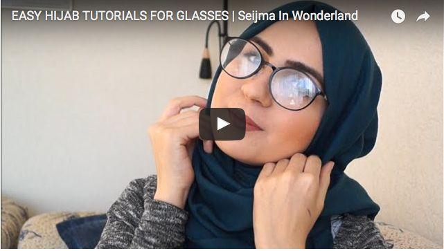 Découvrez en Vidéo Comment Réaliser Un Hijab Pour Lunette En Quelques Étapes | astuces hijab