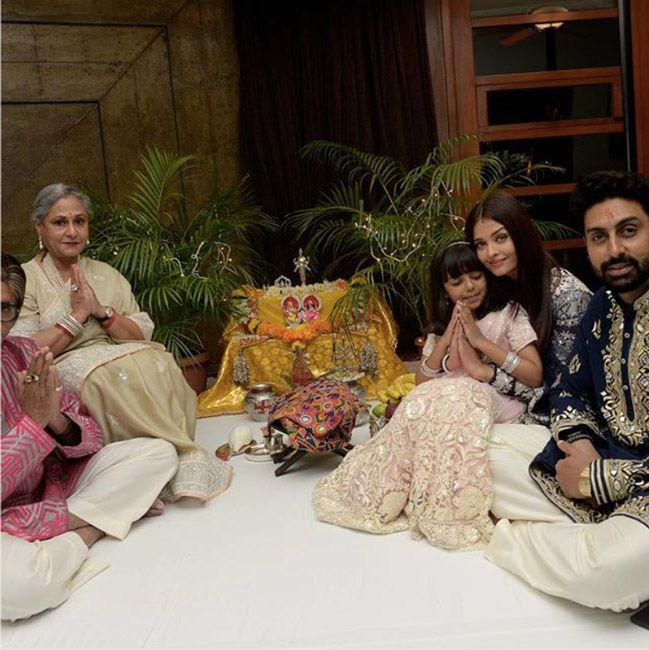 Bachchan family Diwali