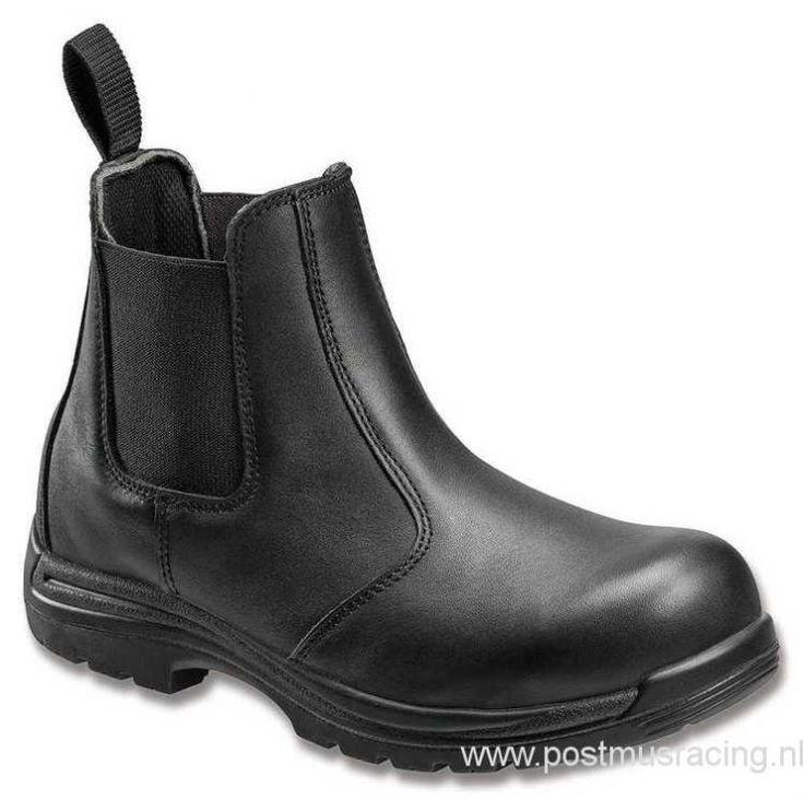 XGH8908076 Laarzen - Avenger Safety Footwear 7408 Full Grain Leather EH Comp Toe Slip On Work Laarzen in Zwart | Men\'s Laarzen
