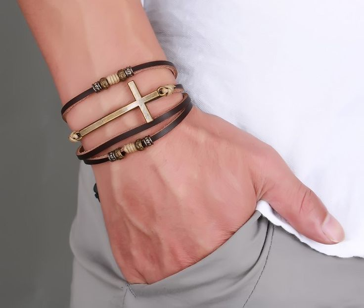 Vintage Braided Rope Genuine Leather Bracelets     Tag a friend who would love this!     FREE Shipping Worldwide     Buy one here---> https://levanra.com/vintage-braided-rope-genuine-leather-bracelets/