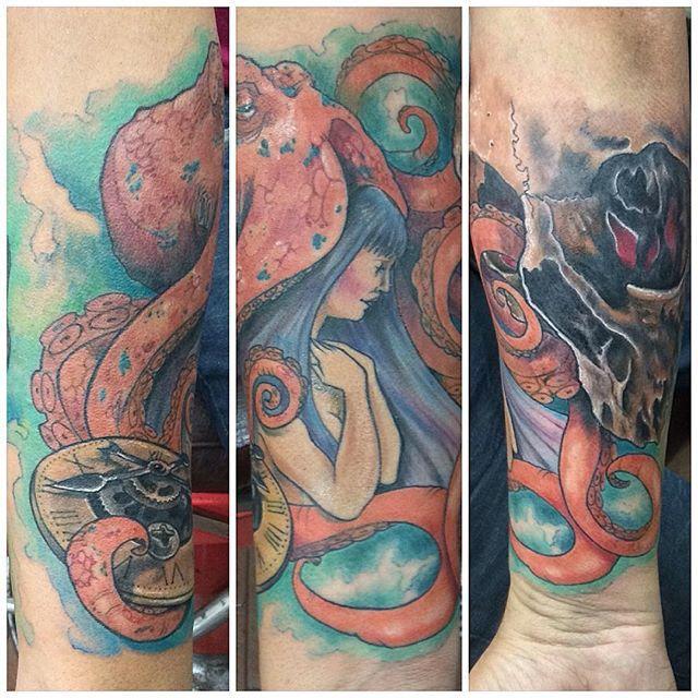Manga antebrazo #tattoo