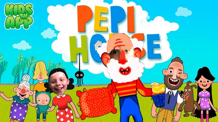 ВРЕДНЫЕ ДЕДКИ в Pepi House Семейная игра #2 ВИДЕО ДЛЯ МАЛЫШЕЙ BAD BABY K...