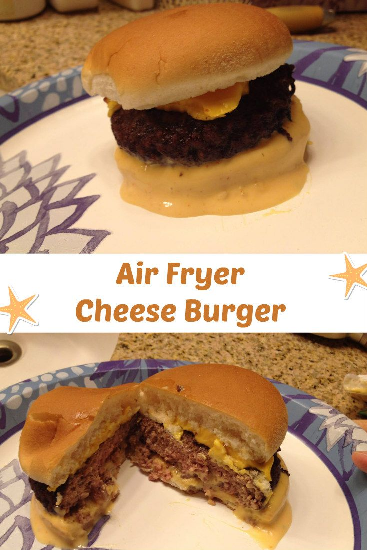 Making cheese burgers in my air fryer could not be easier. Easy cooking makes my life much better.     Print Air Fryer Cheese Burger Ingredients 1 to 4 ground beef patties 1 slice cheese salt and pepper to taste Thousand Island Dressing optional or condiments of your choice. Instructions Place the patties in your …