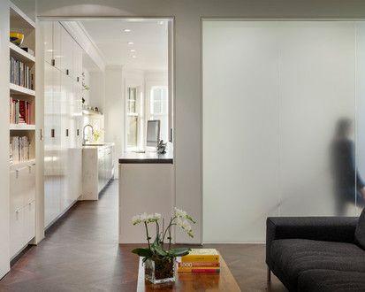 Washington Street Project, Contemporary Family Room, San Francisco