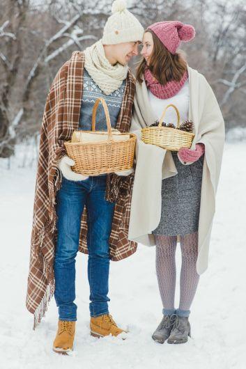 Вязаная зима: love-story Владимира и Елизаветы weddywood.ru