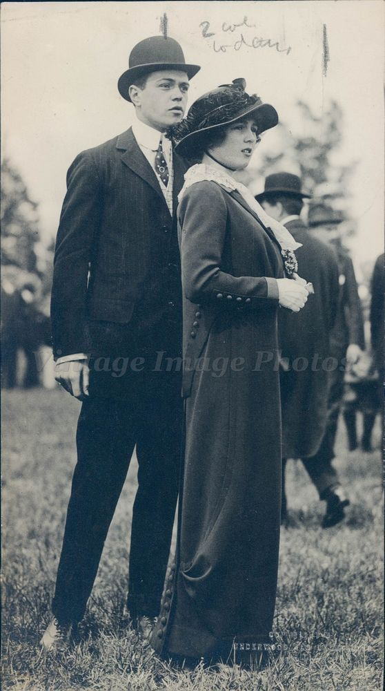 1919 Photo Marie Taylor Beautiful Girl Young Fancy Dress Hat Suit Original Rare