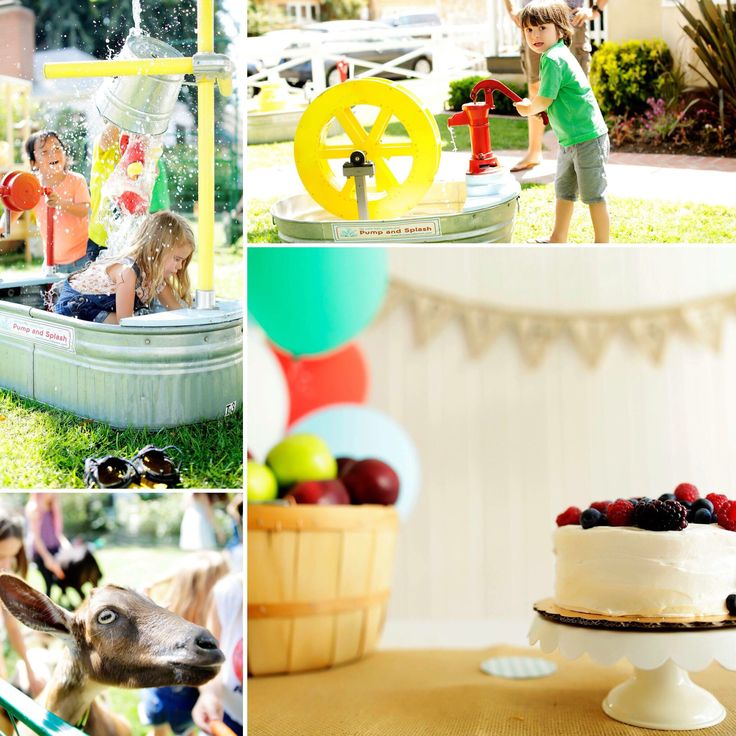 This gorgeous backyard birthday party feels warm, welcoming and casual!