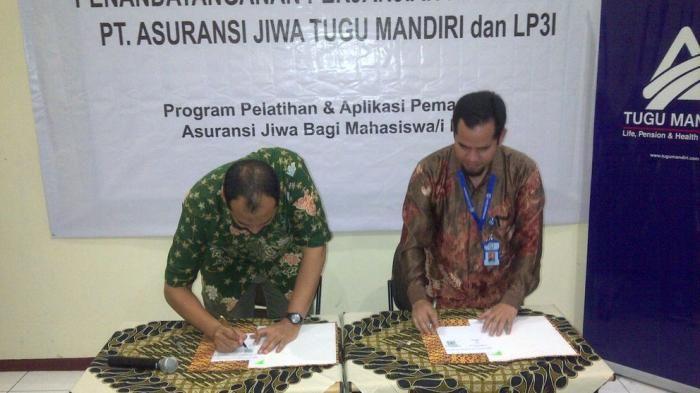 Tugu Mandiri-LP3I Cirebon Kerjasama Ciptakan Enterpreneurship Muda