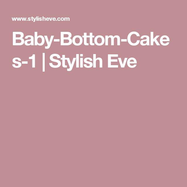 Baby-Bottom-Cakes-1 | Stylish Eve