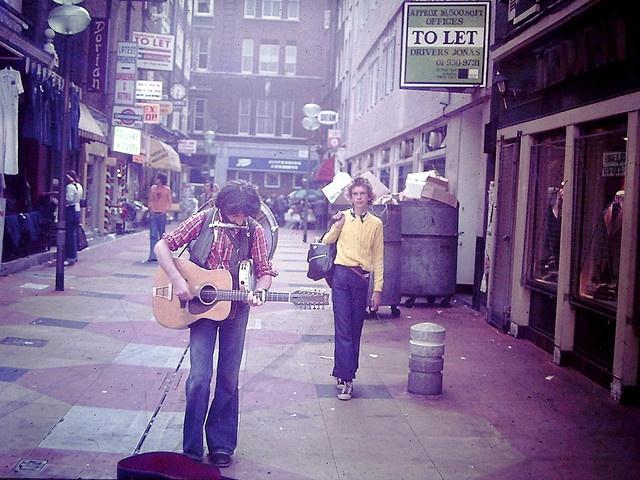 Carnaby Street, London 1976 by ShakeFrog, via Flickr
