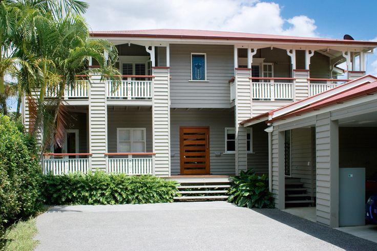 Loving the façade. Modern Queenslander, raised off the ground - Queensland Homes Blog > Real Home
