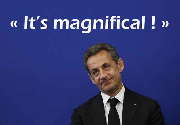 Quand Nicolas Sarkozy veut faire un compliment à la reine d'Angleterre.