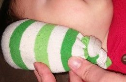 Ear pain - sea salt in a sock, warm skillet 4-6 minutes over medium heat