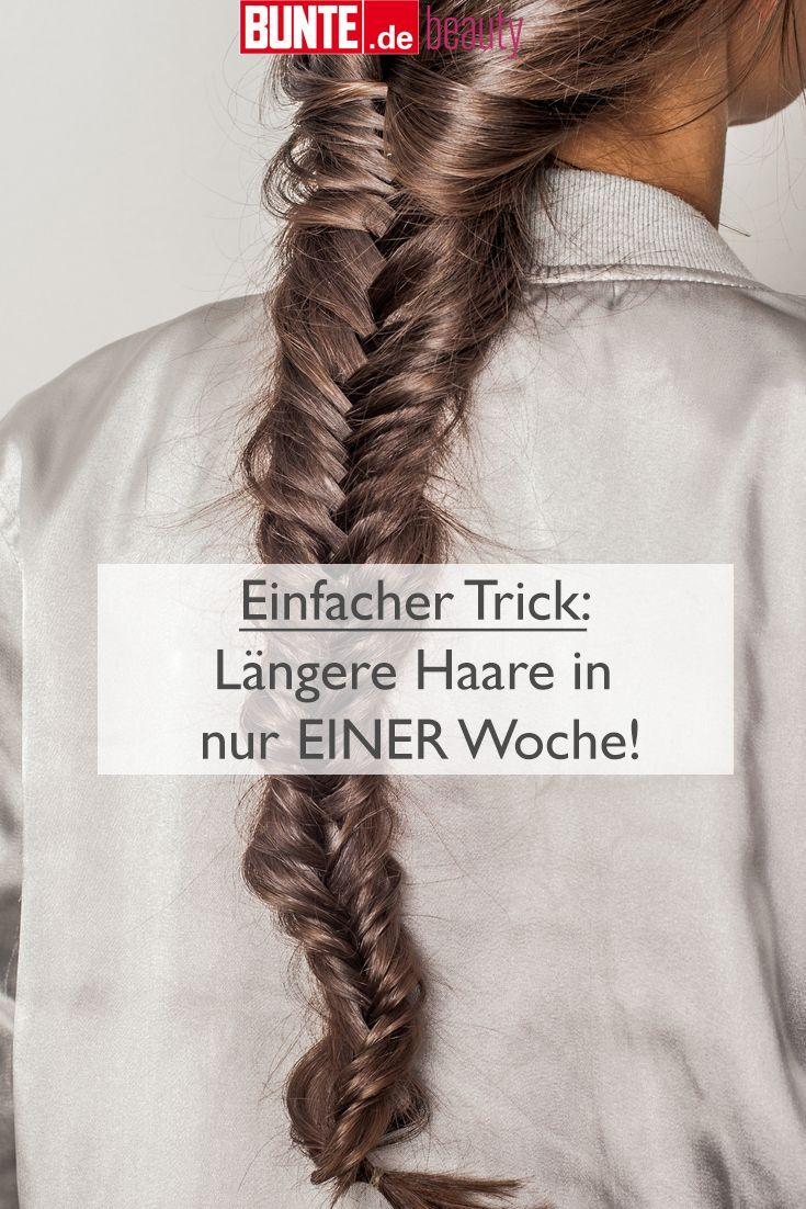 Beauty-Tipp: Einfacher Trick: Längere Haare in nur EINER Woche! – Modern