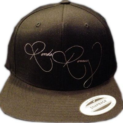 Ronda Rousey Official Signature – Black Hat w/ Printed Signature
