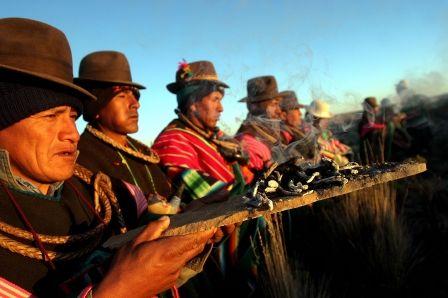 www.villsethnoatlas.wordpress.com (Ajmarowie, Aymara) Aymara Indianen