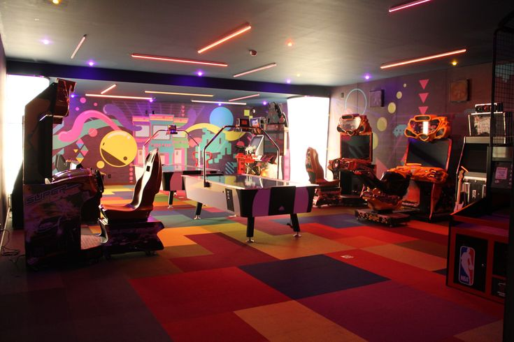 sala de juegos para adolescentes en casa - Buscar con Google
