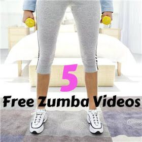 Life With 4 Boys: 5 Free Zumba Videos Online