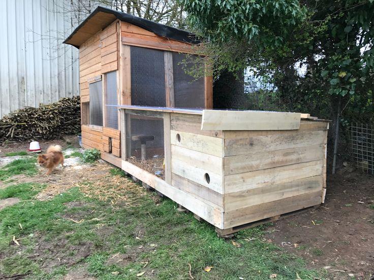 17 meilleures id es propos de clapiers sur pinterest for Construire cabane lapin