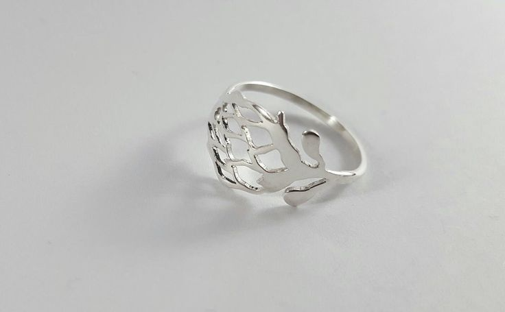 Protea flower ring, R230.00