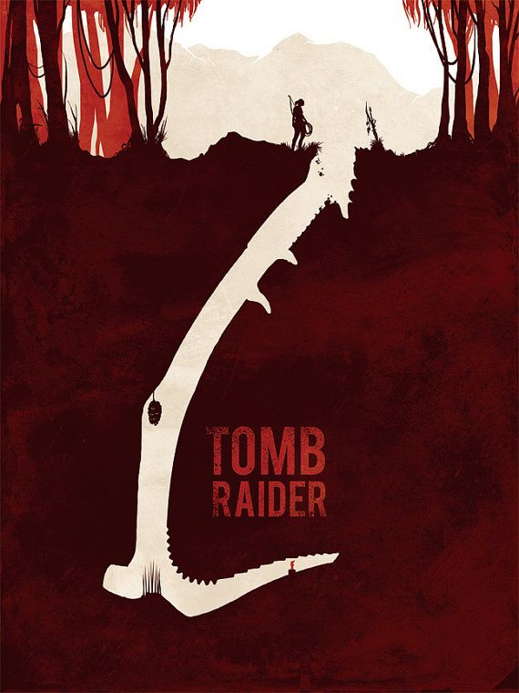 Tomb Raider, Lara Croft, Video Games, Poster, Art Print, Poster
