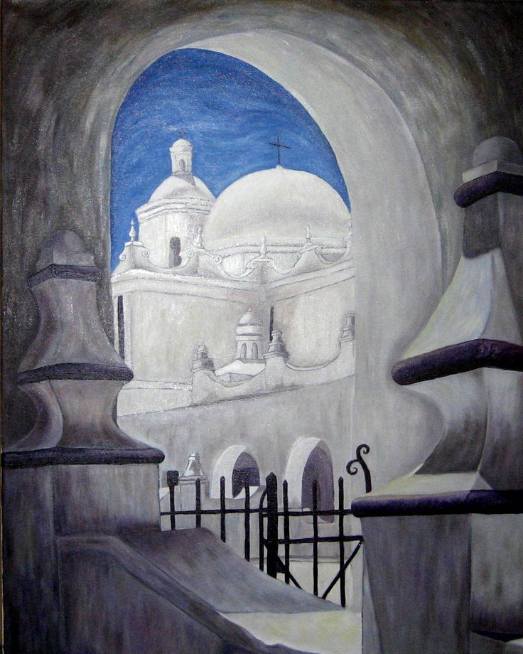 San Xavier Mission.