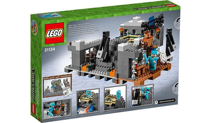 LEGO Minecraft - The End Portal - 21124, read reviews and buy online at George at ASDA. Shop from our latest range in Kids. Enter the stronghold, retrieve the e...