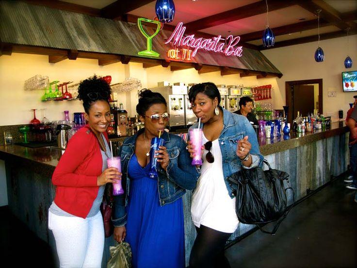 Margaritas at Margaritaville. A MUST stop while in Vegas